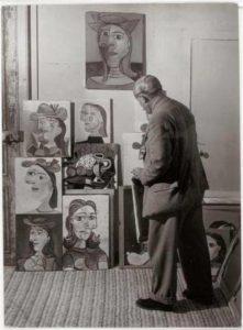 Fotografia di Brassaï, 1939.