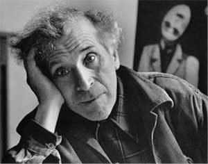Marc Chagall nel suo studio.