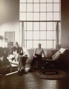 Edward e Josephine Hopper, photo by Hans Namuth, 1964.